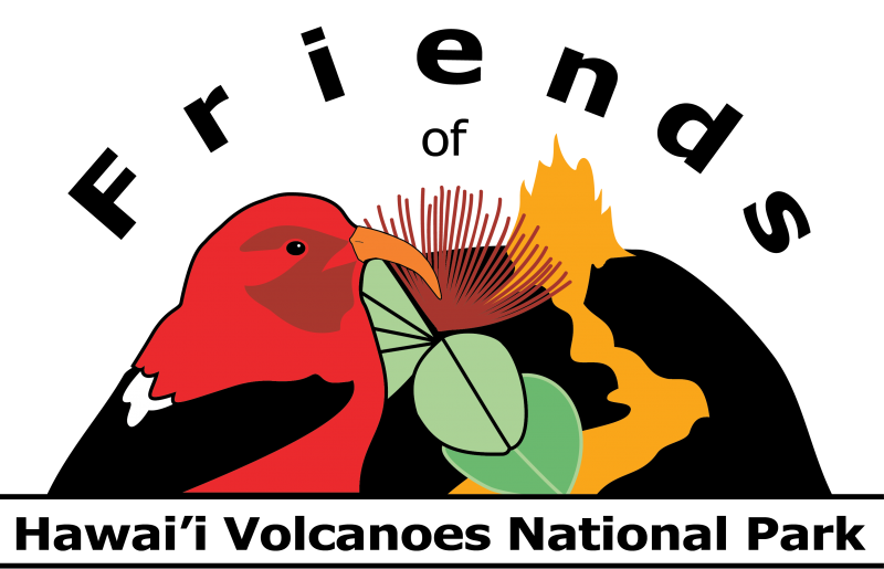 Friends of Hawai'i Volcanoes National Park logo