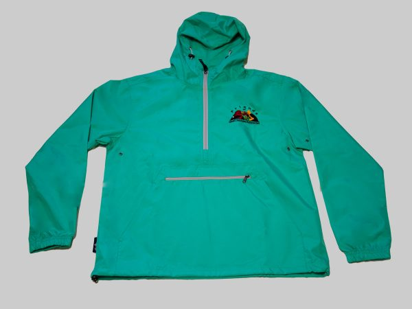 Adult Pack-n-go jacket mint