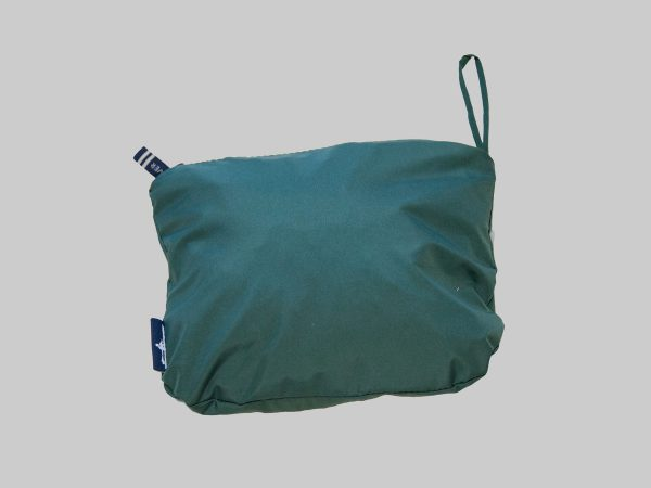 Packed Pack-n-go jacket forest green