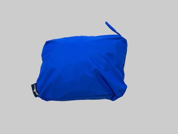 Pack-n-go jacket royal blue packed