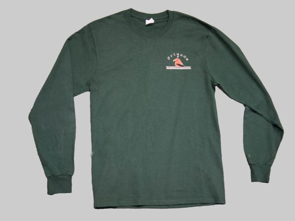LS t-shirt forst green front