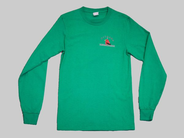 LS T-shirt kelly green front