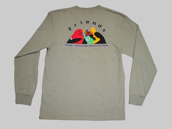 LS T-shirt stonewashed back