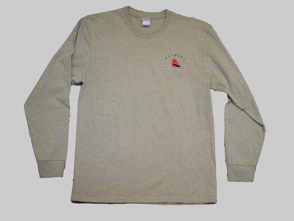 LS T-shirt stonewashed front