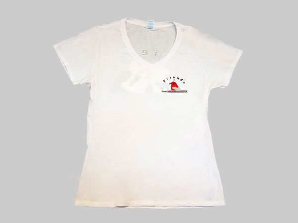 Ladies White Front
