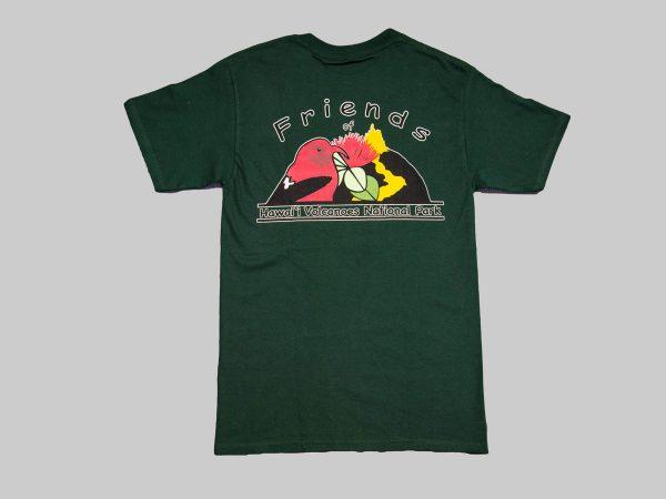 SS T-Shirt Forest Green Back