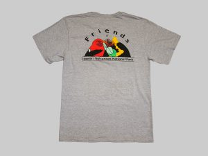 SS T-shirt grey back