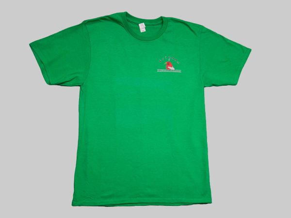 SS T-shirt Kelly Green front