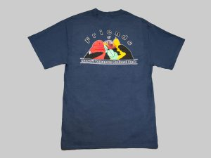 SS T-Shirt Navy Back