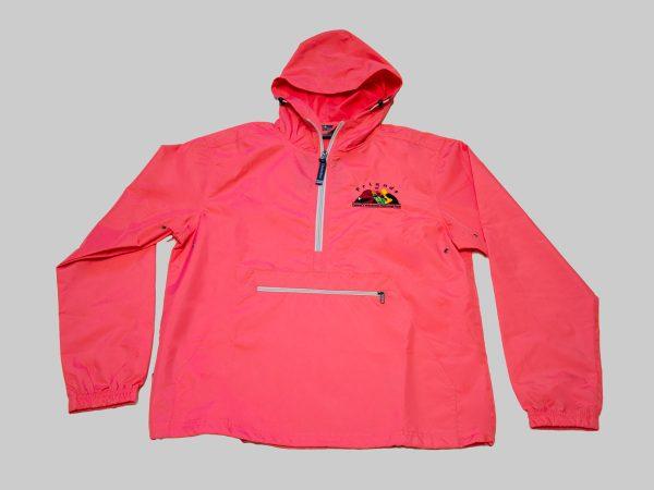 Adult Pack-n-go jacket coral