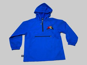 Youth pack & go royal blue