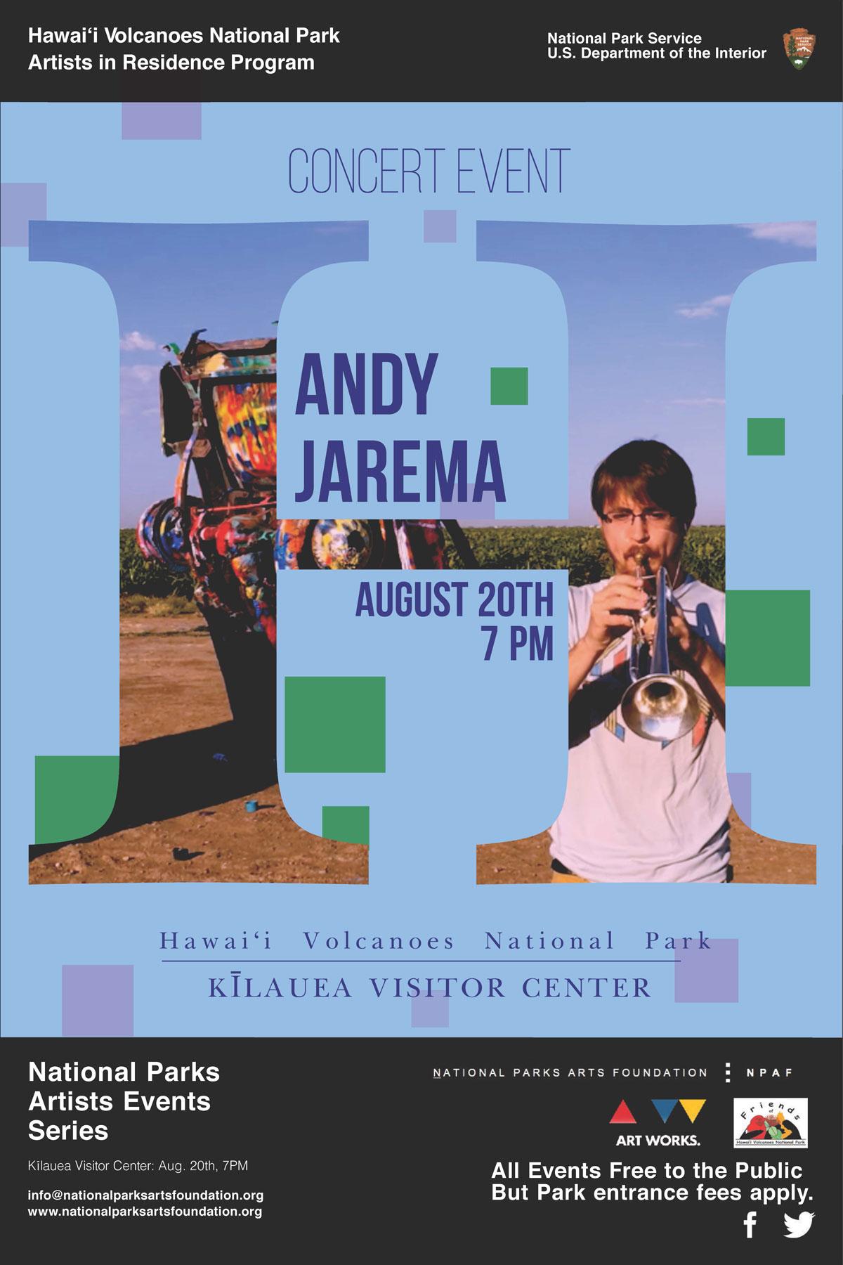 Andy Jarema Poster