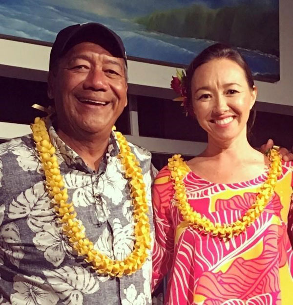 Randy Lorenzo and Jennie Kaneshiro