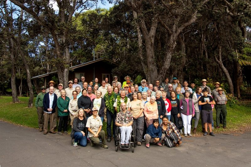 Hawaiʻi Volcanoes National Park 2020 Volunteers NPS Photo/Janice Wei