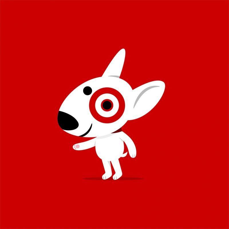 Target Circle Dog