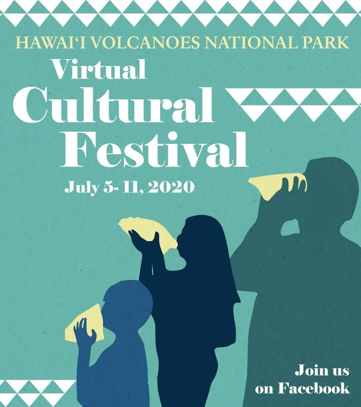 Hawaiʻi Volcanoes National Park 2020 Cultural Festival Poster