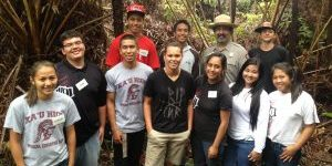 Kau District Youth Ranger Graduation in the Forest